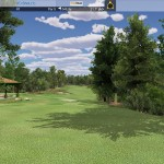 golf course Pinehurst #2 #14 @ GOLFIN Dorion indoor golf