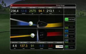technologie de simulateur de golf - TruTrac