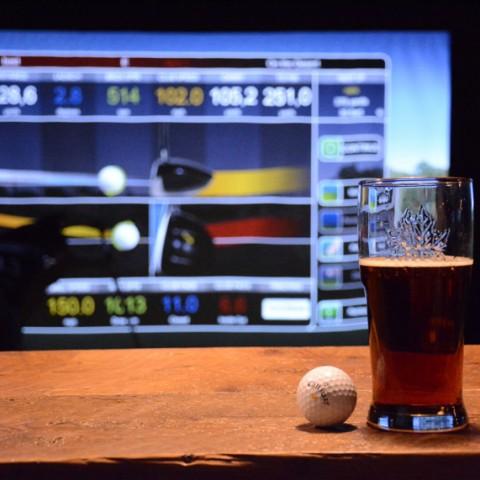 Golf virtuel écran