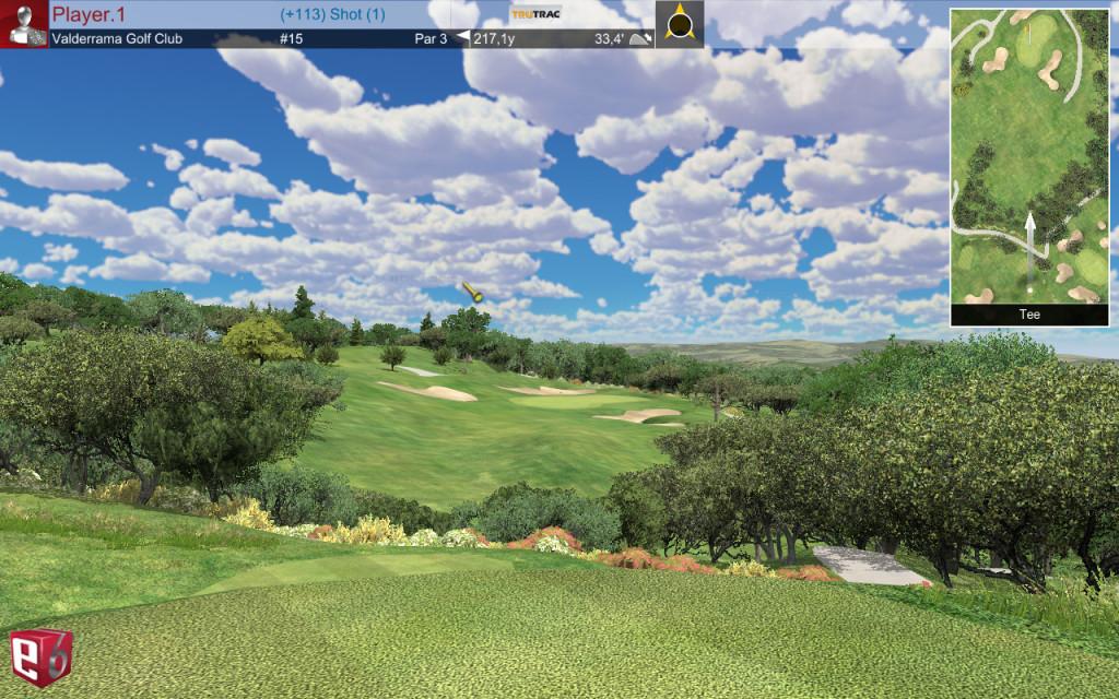 Valderrama #15 @ GOLFIN Dorion golf intérieur_