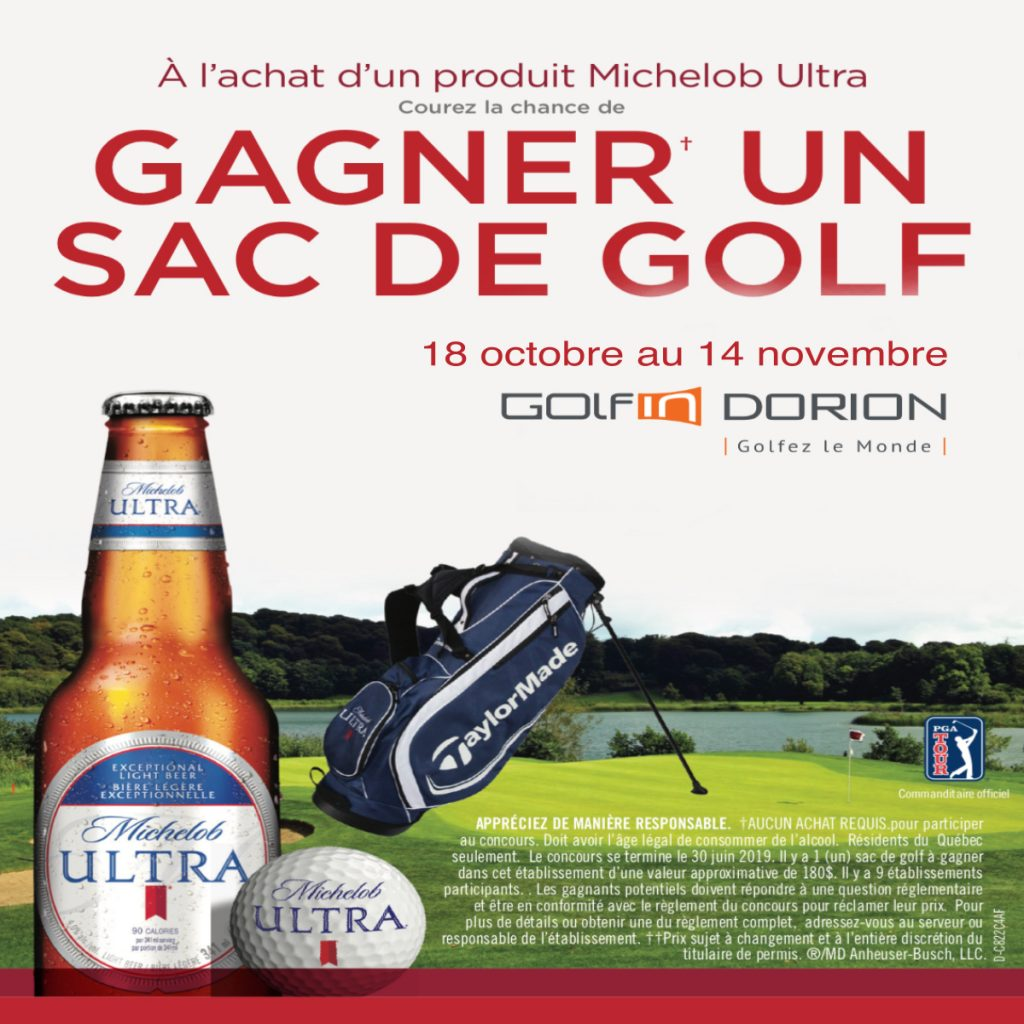Concours Michelob Ultra @ Golfin Dorion