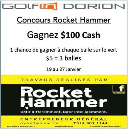 Concours Golf Rocket Hammer