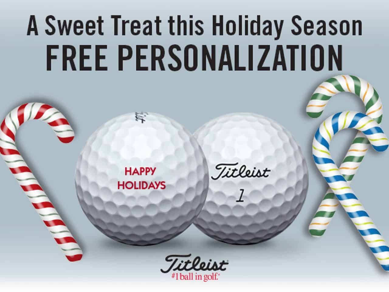 Titleist Personalized Golf Balls Promotion